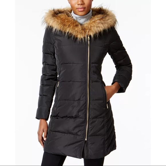 Buy any Coat get 1 FREE Cole Haan Fur Down Puffer